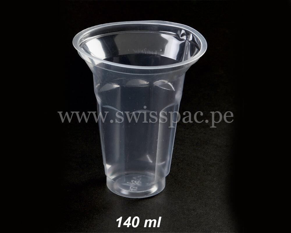 Tazas de jugo desechables