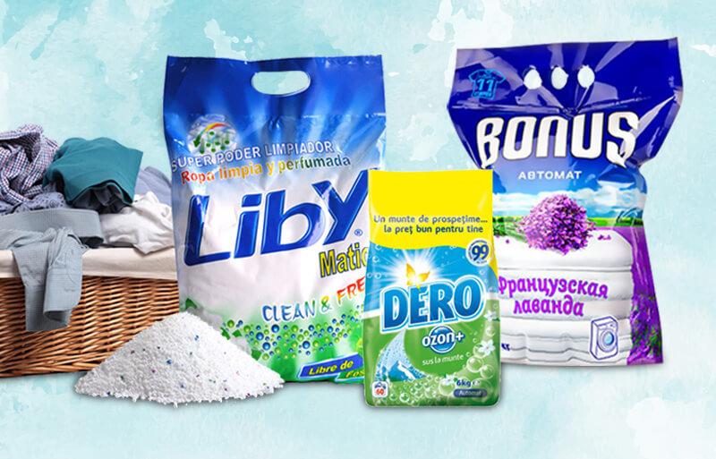 envases para detergente