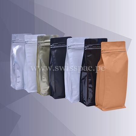 bolsas con fondo plano