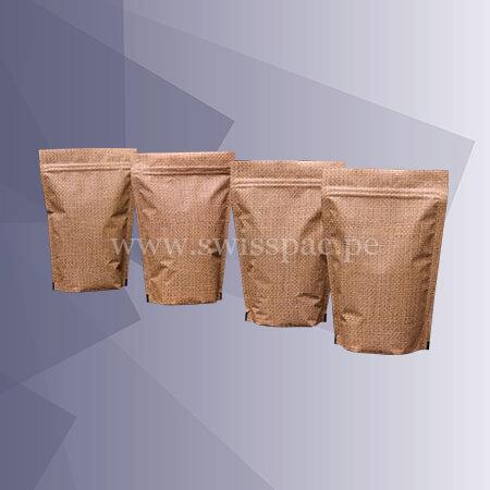 bolsas color yute con alta barrera