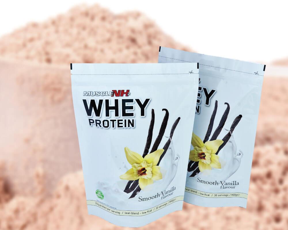 Envases para proteínas y suplementos