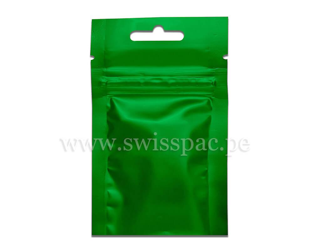 3gm Verde con Zipper