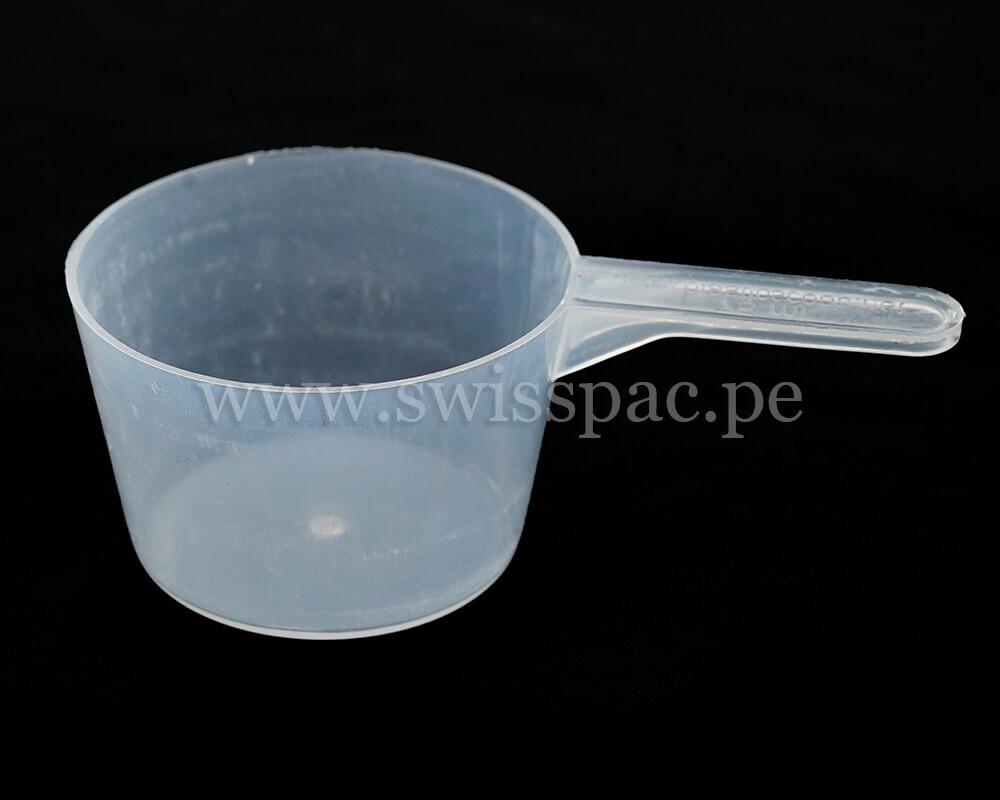 75 ML Cucharada de medición transparente