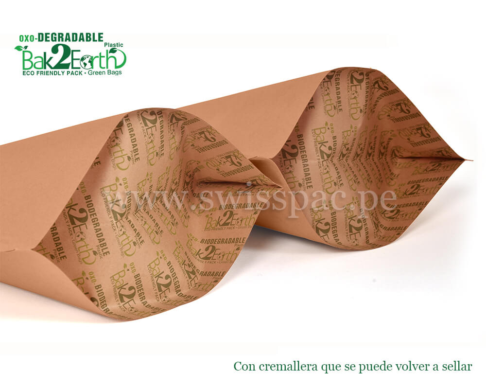 Bolsas de papel biodegradables