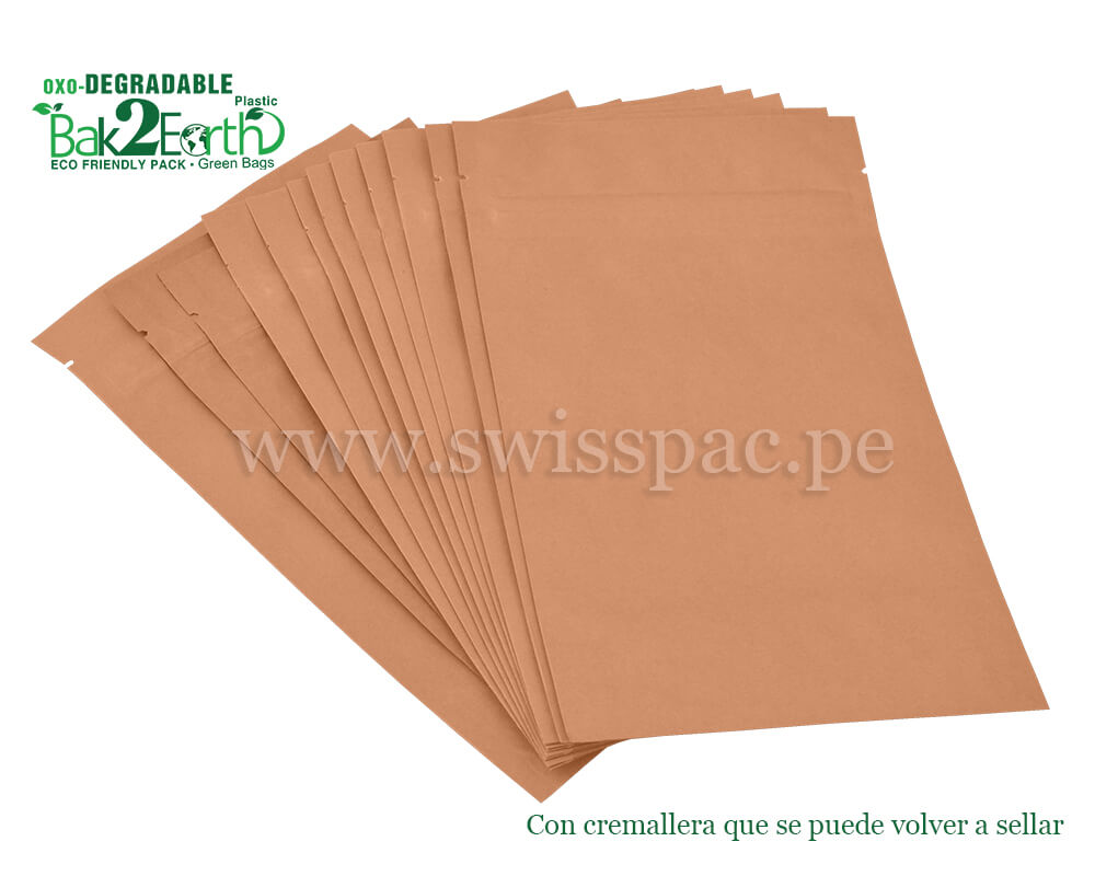 Paquete biodegradable
