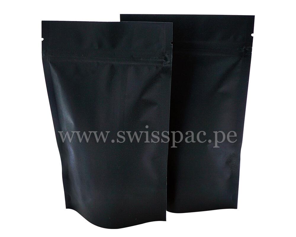 Bolsa de papel negra