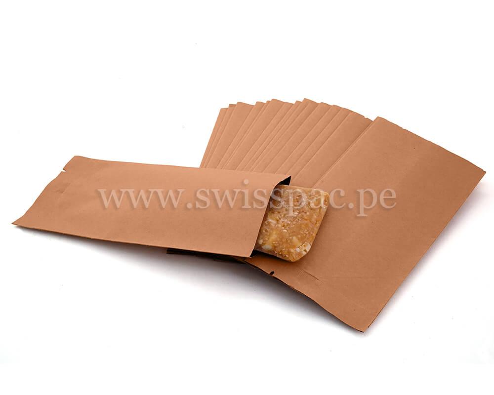 Barra de granola de embalaje