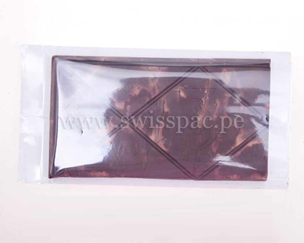 Empaque de barra de granola ultra transparente