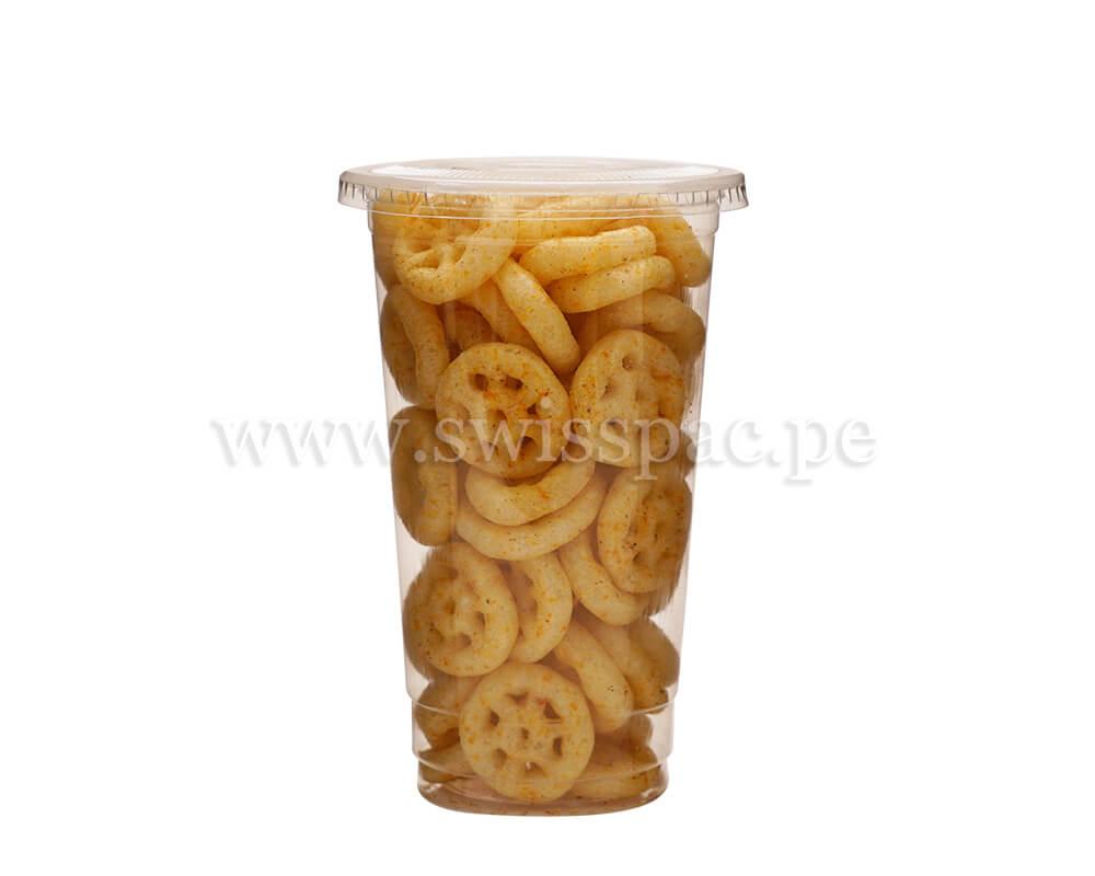 taza de snacks