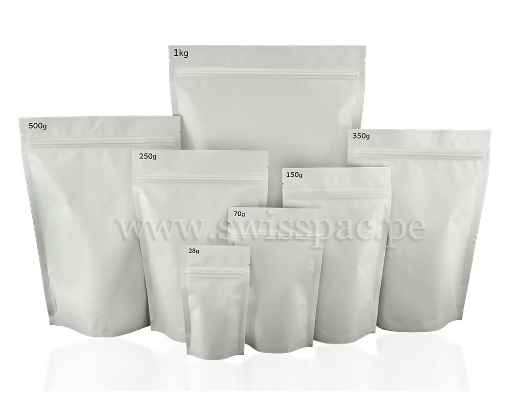 bolsas de papel blanco