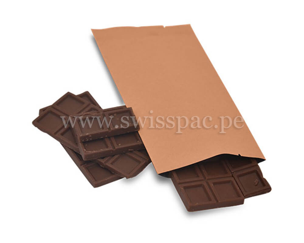 Empaque de barra de chocolate