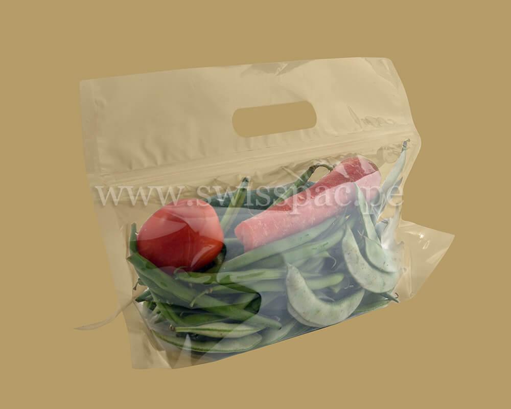La bolsa de verduras grande