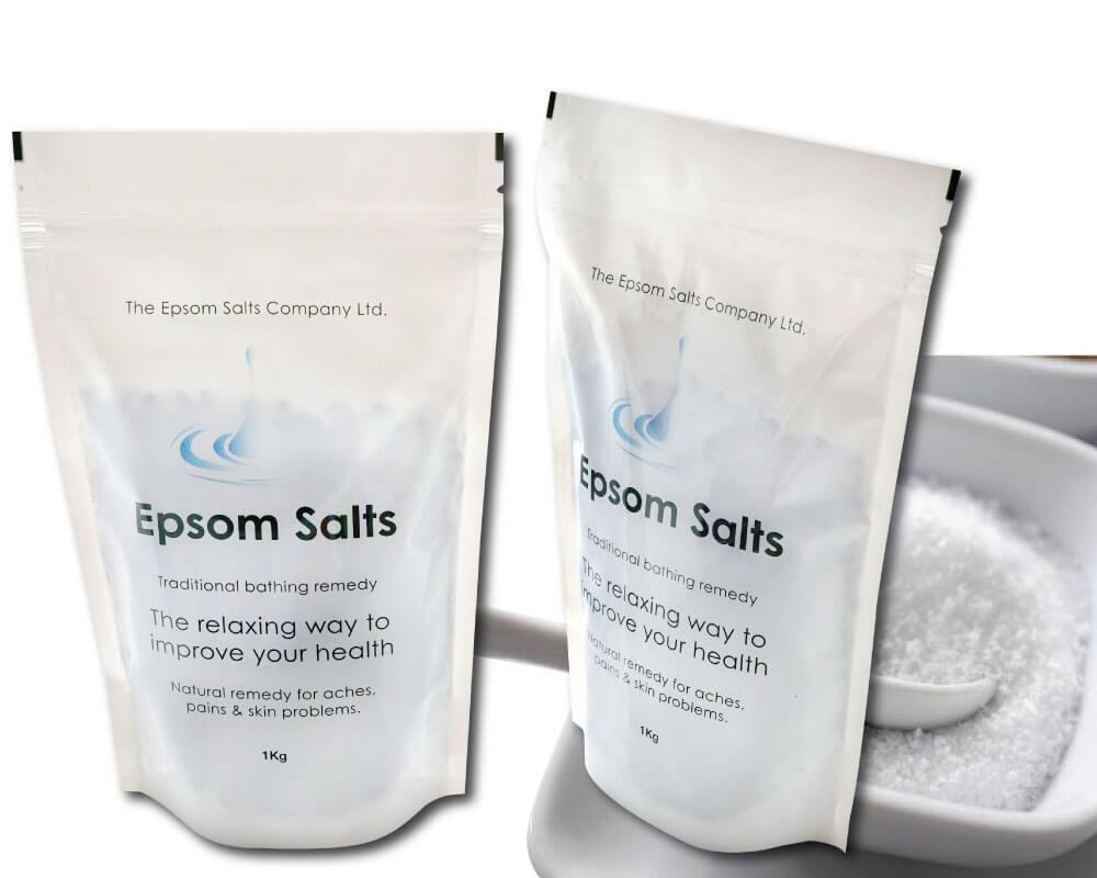 Embalaje de sal marina