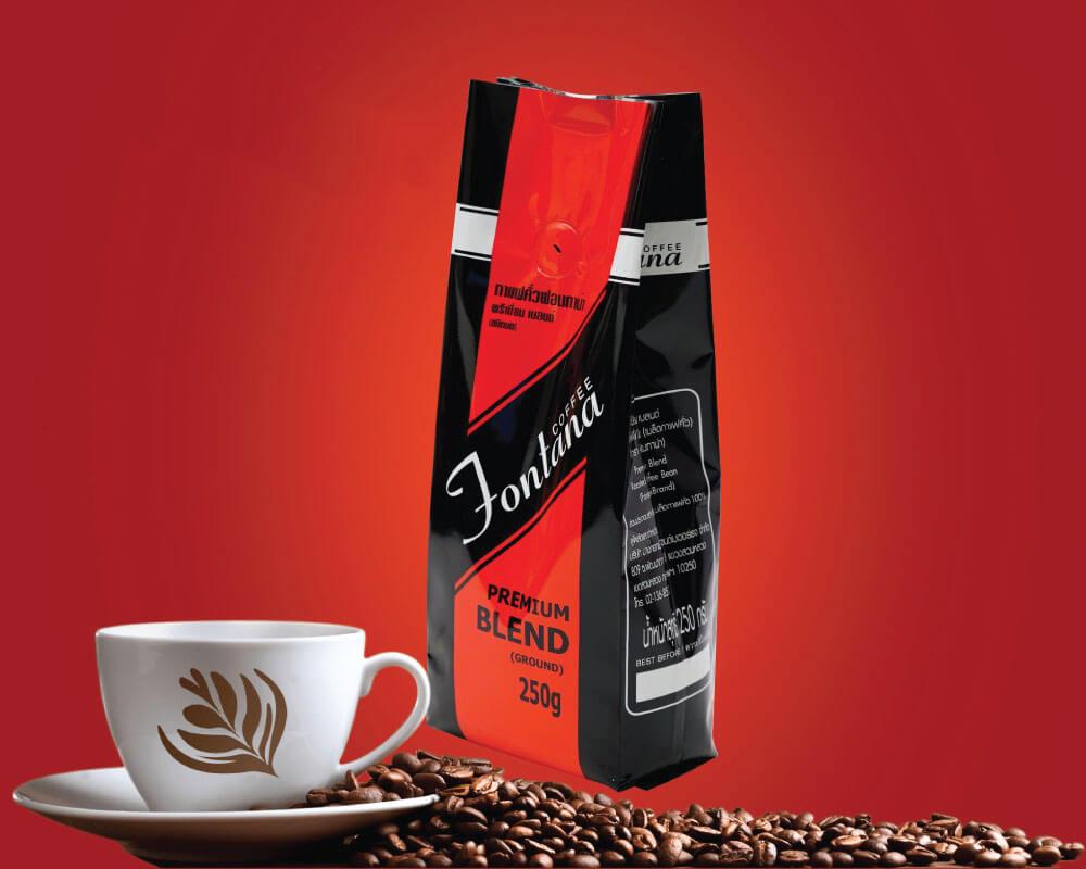 Embalaje de granos de café