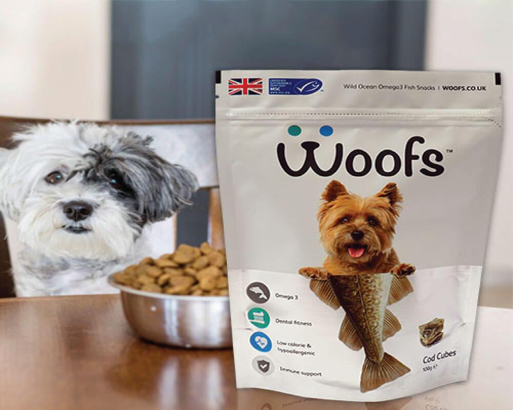 Empaque de alimentos para perros