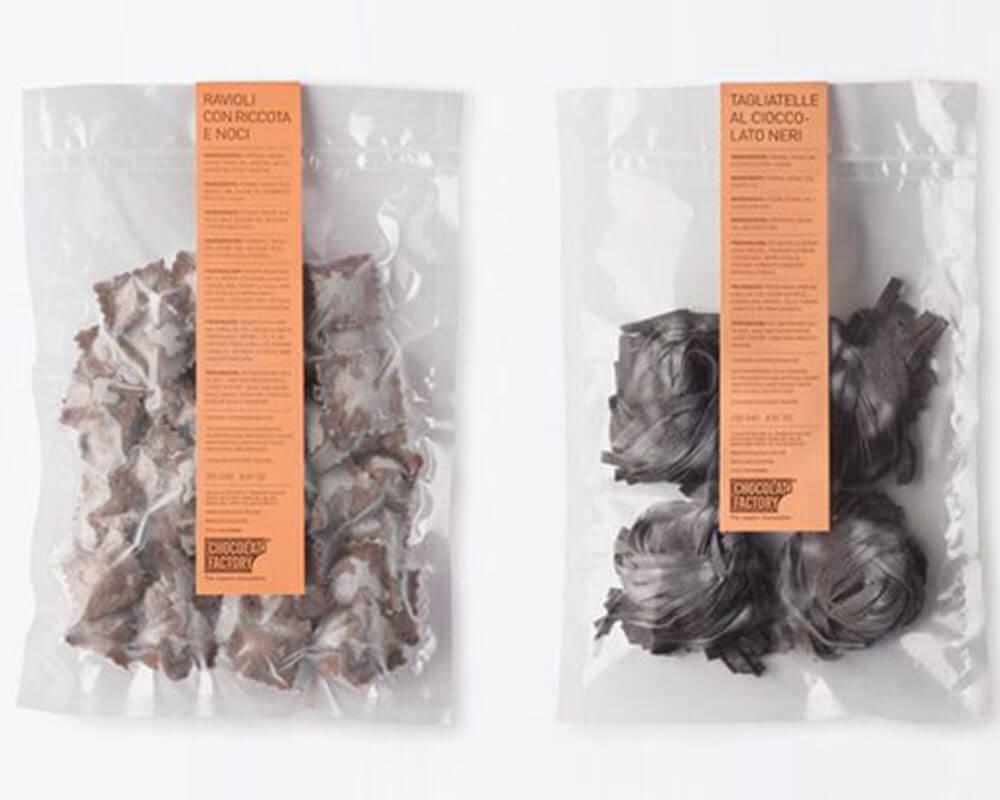 bolsa de chocolates